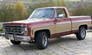 Looking for old squarebody truck