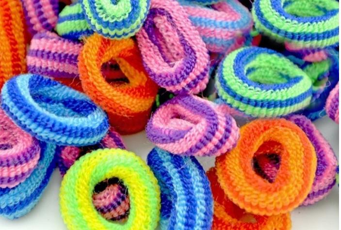 Haarband elastische Haargummis Mini Haargummis für Kinder, Babys, Mädchen S_552