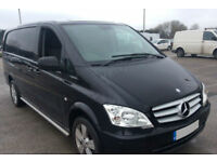 MERCEDES-BENZ VITO DUALINER 2.1 116CDI LONG SPORT CrewCab Van FROM £31 PER WEEK!