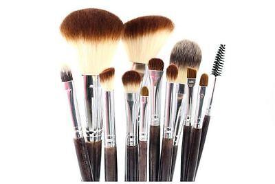 Pro Makeup 12Pcs Brush Brushes Set Cosmetic Powder Foundation Eyeshadow Lip Tool