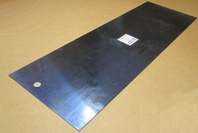 Blue Tempered Spring Steel Shim 0.050 Thick X 12.375 Width X 36 Length M