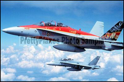 RCAF CF-18 Hornet 410 Sqn Tiger Meet 2001 8x12 Aircraft Plane Photos