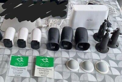 Arlo pro Wireless Cctv 3 Cameras And Extras