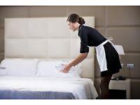 Hotel Chambermaid (female) - £7.20 FULLTIME POSITION.