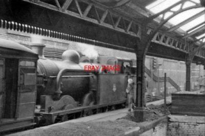 PHOTO  LUDGATE HILL RAILWAY STATION LONDON 1953 SE&CR CITY LINE HOLBORN ETC