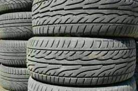 Wholesaler of partworn tyres 3-8mm in all sizes for trade and regular customers