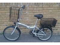 "Unisex MARS 20"" Folding Bike In Excellent Working Condition"