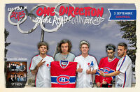 ONE DIRECTION Montreal Sep 5 Stade Olympique 2 Billets Ensembles