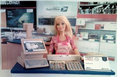Barbie USPS Post Office Toy Play Set HANDMADE!