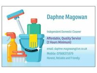 New Service in Newtownabbey Daphne's Domestic Cleaning