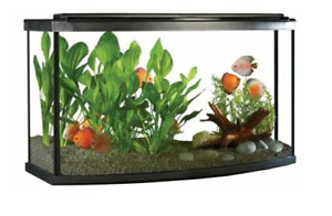 45 Gallon Bow front Aquarium (Lightly used  for 1 year)