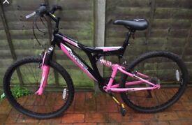 Womens-silver fox bike