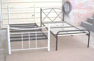 Clean Tubular Single Bed Frames Inala Brisbane South West Preview
