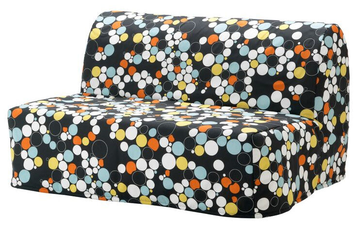Beautiful Sofa Bed Ikea Lycksele Lövås Multicolour Cover