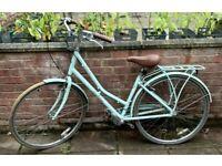 "Pendleton Somerby hybrid bike Size 17"" Colour: mint colour Women's Bicycle."