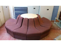 Reception/lobby seating (circular design) (delivery available)