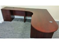 Executive Rosewood Finish Office suite