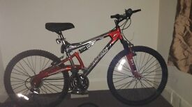 Free peddle bike mountain bike unisex