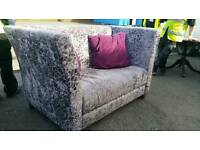 Beautiful CSL crushed velvet high backed sofa (x3) available
