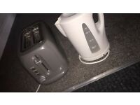 Asda' toaster and kettle