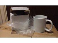 33 11oz White Sublimation Mugs