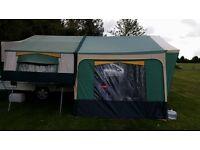 2004 Conway Countryman folding Camper