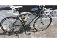 Carbon fibre Raleigh road bike