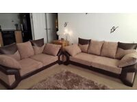 Oder now Super jumbo cord Dino corner sofa brand new -- SAME DAY DELIVERY WE OFFER