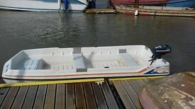 10FT triple hull Sniper Dinghy (Double skinned/ Unsinkable) & Yamaha Outboard Engine