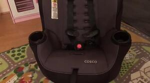The Cosco Apt 40 car seat is basic but effective