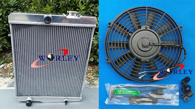 high-performance Aluminum Radiator &FAN TRIUMPH TR4A new