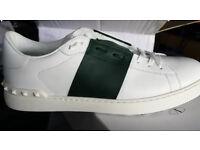 Valentino white and Black Trainers, Brand New in Box
