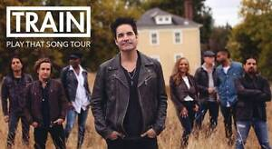 Train in Concert FRONT ROW Sydney 1sr August 2017 Warriewood Pittwater Area Preview