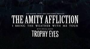 AMITY AFFLICTION CONCERT GA TICKETS for Sale Melbourne CBD Melbourne City Preview