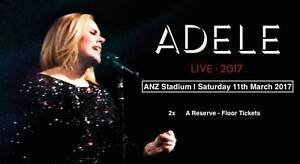 ADELE SYDNEY:    2x   A   RESERVE - FLOOR TICKETS (SATURDAY) Sydney City Inner Sydney Preview