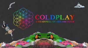 Coldplay 1x Silver Standing GA Ticket Gowrie Tuggeranong Preview