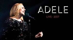 2x ADELE PERTH FRONT ROW B RESERVE 350$ Perth Perth City Area Preview