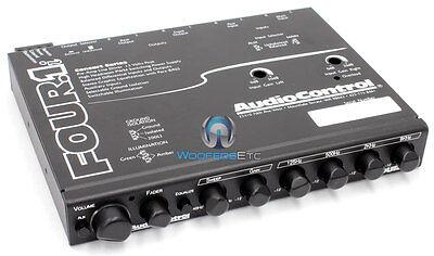 Audiocontrol Four.1i Car Audio Equalizer Line Driver 13 Volt Crossover