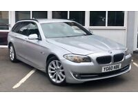 BMW 5 SERIES 520d SE TOURING (silver) 2010