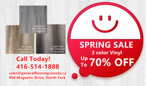 6.5 mm Top Quality WPC Vinyl flooring starts from only $1.69