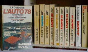 Livres Le Guide de l'Auto