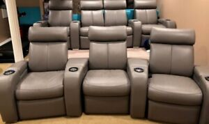 PREMIUM HOME THEATRE CHAIR SEATING - LED LIGHTING
