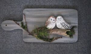 Hand Made Stone and Wood Wall Art