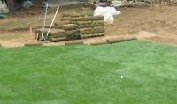 paysagement- Services professionnels d'installation de tourbe