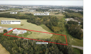PURCHASE 2 Shops, Rental Property on 3.74 Acres!