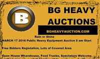 BG Heavy Auction