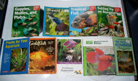 Pet Books Clearance! 20%-90% Off ~Reptiles, Frogs, Fish, Crabs