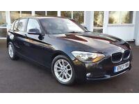 BMW 1 SERIES 1.6 116d EFFICIENTDYNAMICS (black) 2013