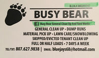 SNOWBLOWING / DUMP RUNS /GENERAL CLEANING