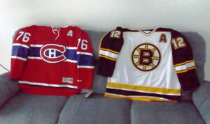 P.K. Subban and Adam Oates Signed Jerseys